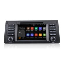Android 5.1 Quad core HD 1024*600 экран 2 Дин DVD GPS Радио стерео Для BMW E46 E39 X5 M3 android wifi 3 Г GPS USB SWC АУДИО