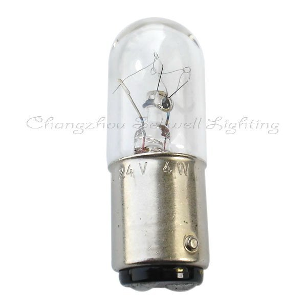 Ba15d T16x46 24v 4w Miniature Lamp Bulb Light A091