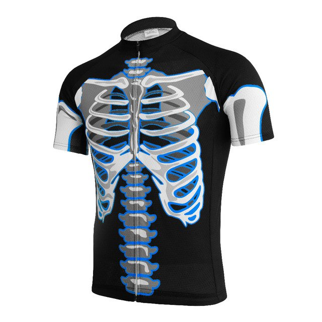 NEW Hot Customized 2016 JIASHUO Skeleton pro / road RACING Team Bicycle Bike Pro Cycling Jersey / Wear / Clothing / Breathable