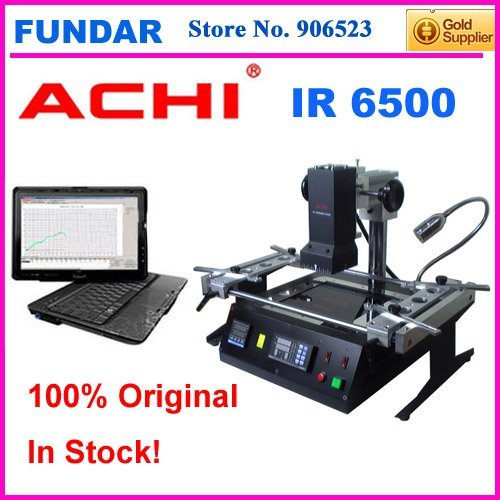 Free shipping Offical agent ACHI IR6500 Upgrade from IR6000 IR9000 BGA Rework Station for laptop PS3 motherboard chip repair