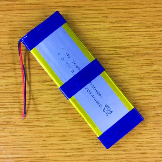 New Hot 12V 9050142 lithium battery pack polymer LED lamp large capacity DIY universal rechargeable 2500Mah Large Batteries Cell
