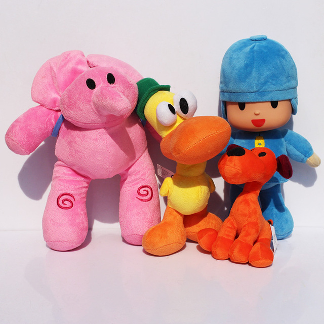 12-26cm selectable Pocoyo Elly & Pato & POCOYO & Loula Stuffed Plush Toys Good Gift For Children