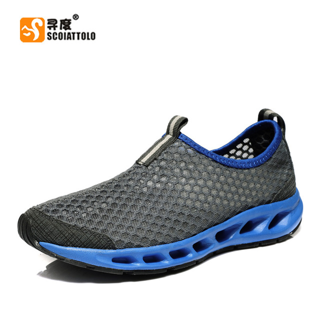 summmer man sandals new fashion  sports casual sandals hole sport shoes male genuine leather sandals