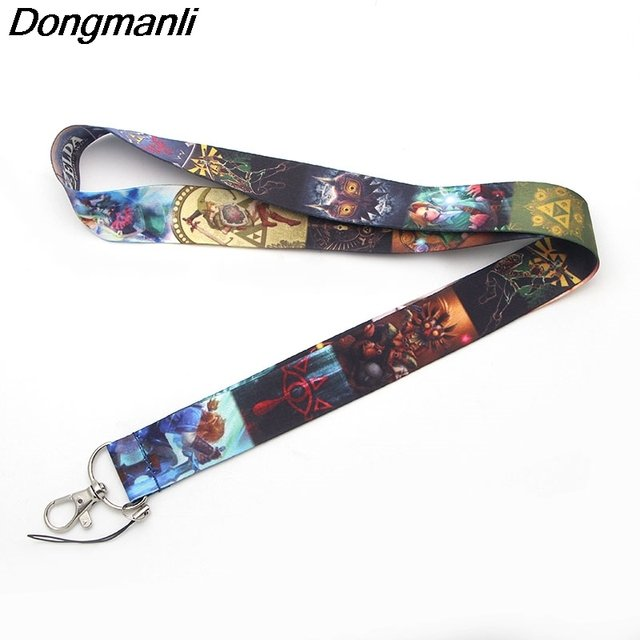 M1500 DMLSKY Cartoon Strap Necklace for keys Lanyard for ID Card Pass Gym Mobile Phone  USB badge
