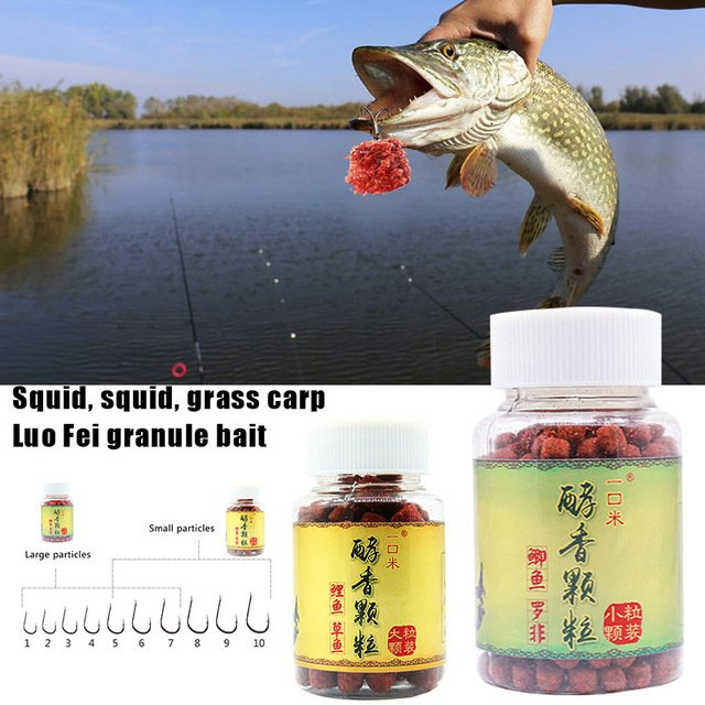 Mellow Granules Durable Scent Baits Seawater Sea Fishing Fishing Rod Grain Bait Portable Spice Bait Rock Fishing Fishing Boat