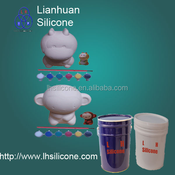 Good quality liquid rtv-2 mold making silicone rubber for plaster