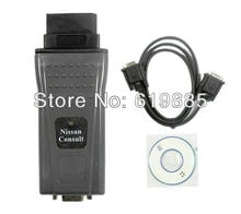 2013 The Best Consult Interface 14pin Connects For Nissan To PC Via RS232 DDLreader v.15C / DDLreader v.16C Free Shipping