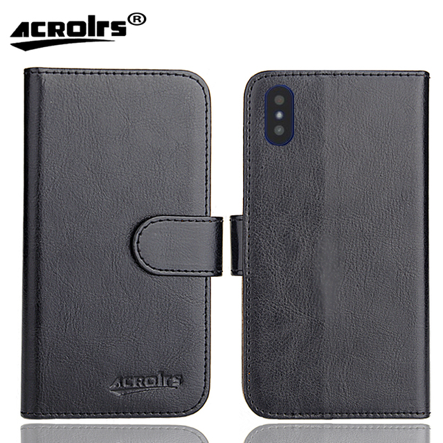 DEXP Z355 Case 6 Colors Dedicated Leather Exclusive Special Crazy Horse Phone Cover Cases Credit Wallet+Tracking