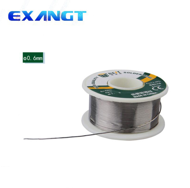 Soldering Tin Wire BEST 0.6mm 100g 60/40 Tin Lead Tin Wire Melt Rosin Core BEST 0.6mm Solder Soldering Wire Roll