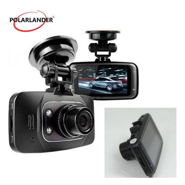2.7 inch  free shipping LCD screen GS8000L HD 1080P Car DVR Car Recorder Video Dashboard Camera G-sensor GS8000