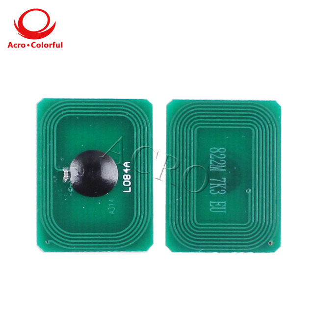 One set 43459304 ~ 43459301 43459309 ~ 43459312 reset chip for OKI C3300 C3400 C3450 C3530 C3600 laser printer spare parts