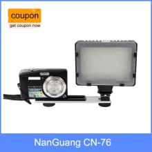 NanGuang CN-76 LED On-camera LED Видео свет 5400K для видеокамеры DV DSLR камеры
