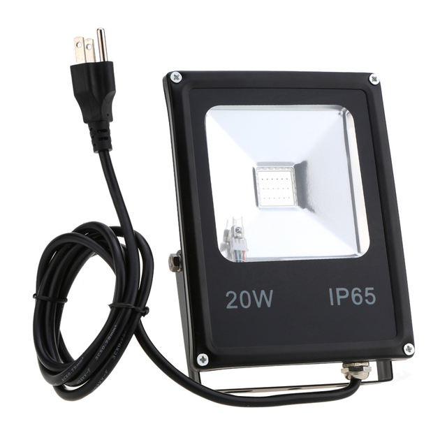 RGB Waterproof IP65 LED Floodlight 10W 20W 30W 50W 85-265V Warm White LED Spotlight Outdoor Flood Lamp For Garden Wall Spot Lamp