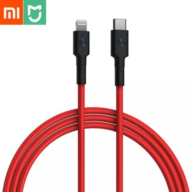 Xiaomi ZMI USB-C To Lightning Type C For Lightning MFI Certified 3A 18W Fast Charge PD For iPhone+Ipad Data Cable Charging Cable