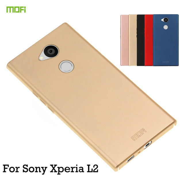 For Sony Xperia L2 Case 5.5 inch Original MOFi Luxury PC Protective Back Cover Phone Shell Hard Case for Sony L2 Cover