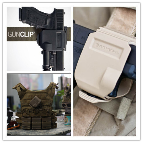 CP models holster For GLOCK 17/22/23 Tactical Airsoft Paintball Hunting Shooting Roto Right-Handed Gun Clip Holster BK/TAN/FG