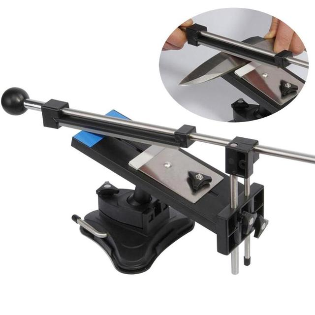Professional Knife Sharpener System Fix-angle And 4Stone Kitchen Sharpening