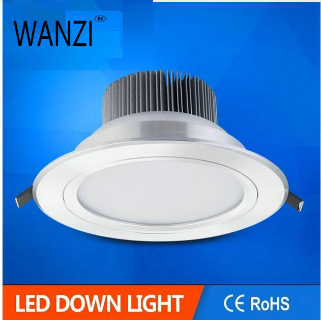 Free shipping 9W 12W led downlight led  SMD5730 Flash Silver or Sand silver led ceiling light  luces decoracion led 220v