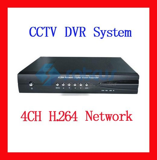4CH H.264 DVR Standalone 4 Channel Security CCTV DVR Recorder Network DH3004-Satcus