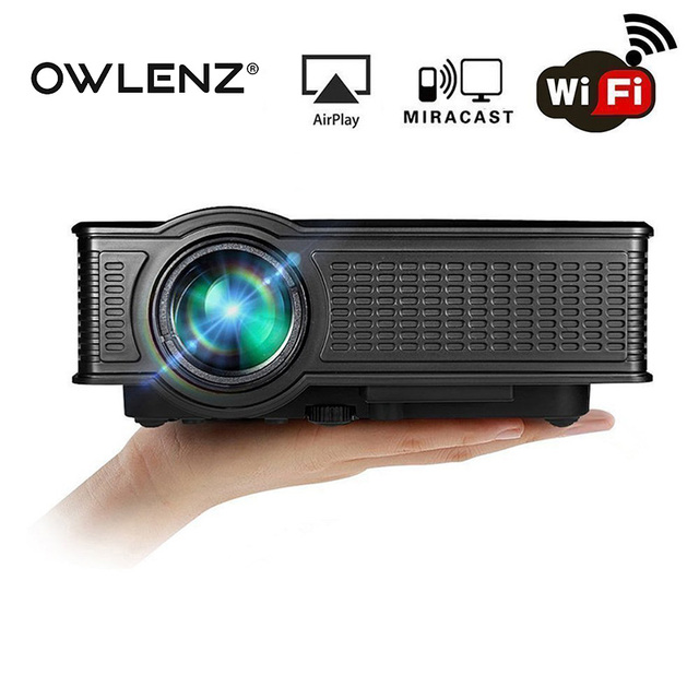 Original Mini Projector Pico HD LED Video Movie Home Cinema Portable Mobile Projector WIFI Support Miracast Airplay Multi-Screen