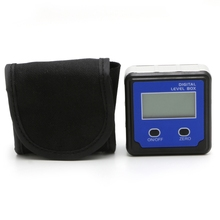 Digital Protractor Inclinometer Level Box Angle Finder Bevel Box w/Magnet Base Angle Display