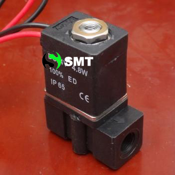 Free shipping, 3P025-06-DC24V plastic solenoid valve-5~80`C 0~0.8MPa 3 way 2 position Solenoid valve for water