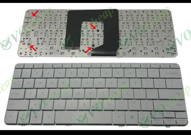 New Laptop keyboard for HP Pavilion DM1 DM1-1000, for Compaq mini 311 Grey US Version - V100146AS1