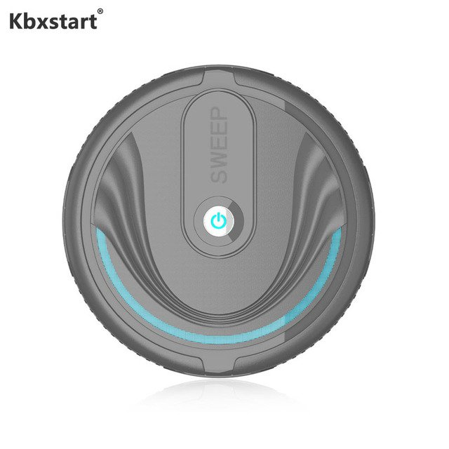 Kbxstart Mini Robot Vacuum Cleaner Automatic Sweeping Floor Dirt Dust Hair Sweeper Robot for Household Smart Cleaning Machine