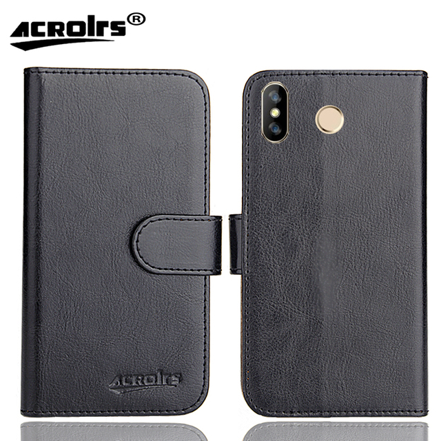 HOMTOM H5 Case 6 Colors Dedicated Leather Exclusive Special Crazy Horse Phone Cover Cases Credit Wallet+Tracking