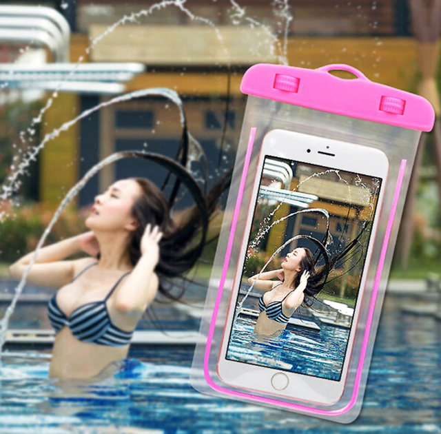 Waterproof Swimming Mobile Phone Cases Pouch Touch Screen For ZTE nubia Red Magic,Leagoo S9/M9 Pro
