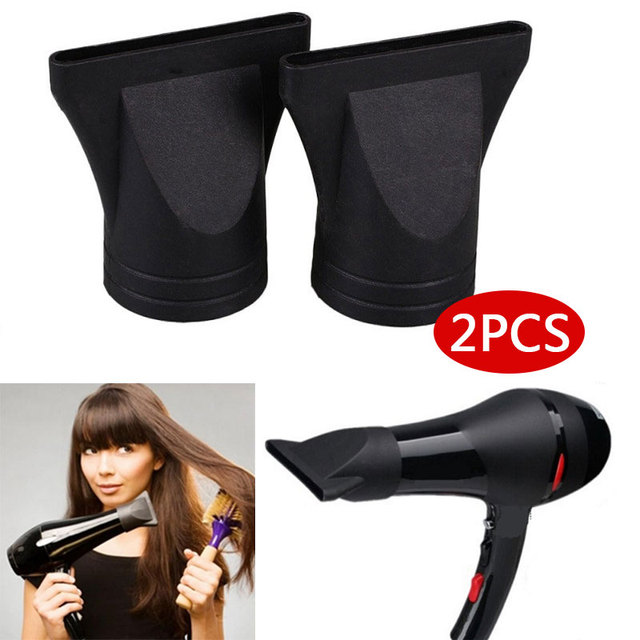 2pcs Hair Dryer Nozzles Hair Diffusers Cover Concentrator Tool Plastic Nozzle Dryer Salon Barber Hair Styling Accessories