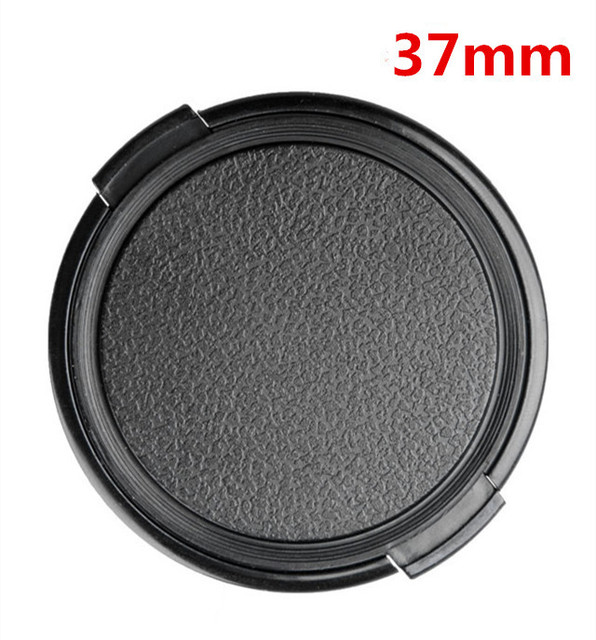 37mm Camera Lens Cap Protection Cover Lens Front Cap for canon nikon Sony Pentax Fujifilm Olympus Leica 37mm DSLR Lens