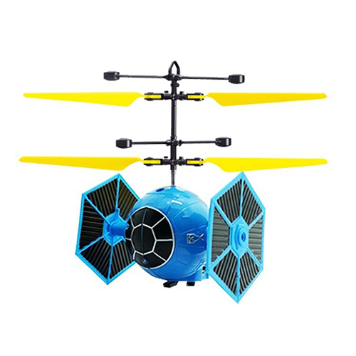 Glowing Flying glowing Helicopter Gesture Induction Control LED Light Up Indoor Outdoor Games for Kids Teenager Flying Toys