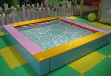 electric  indoor playground equipment - water bed ,hlc010