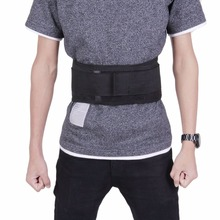 Adjustable Infrared Magnetic Back Brace Posture Belt Lumbar Support Lower Pain Massager Self-heating Therapy Waist Belt New