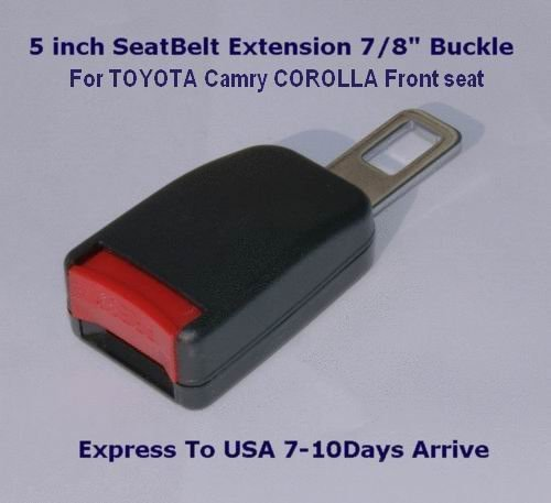"""Seat Belt Clip Extension Extender For TOYOTA Camry COROLLA Front seat Add 3"""" length free ship"""