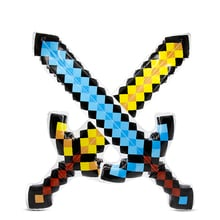 NEW High Quality Balloon Swords Perfect Mosaic Swords Diamond Balloons Sword Action Party Toy Christmas Gifts Kids