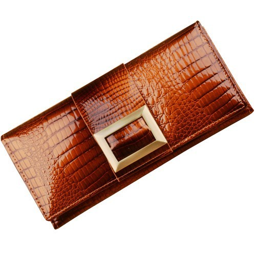 New 100% Genuine Leather Day Clutches  Women's Long Wallets Evening bags Clutch Bag JJ208