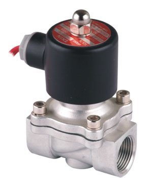 Free Shipping 5PCS 20mm Flow Bore SS Solenoid Valve FKM Normally Closed 2/2 Way VITON Oil Acid DC12V 3/4'' Ports