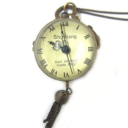 Antique 1882s Made SHU HANG Pocket Watch Xmas Gift