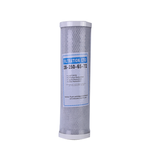 1pcs Water Filter Activated Carbon Cartridge Filter 10 Inch Cartridge Replacement Purifier CTO Block Carbon Filter Waterpurifie