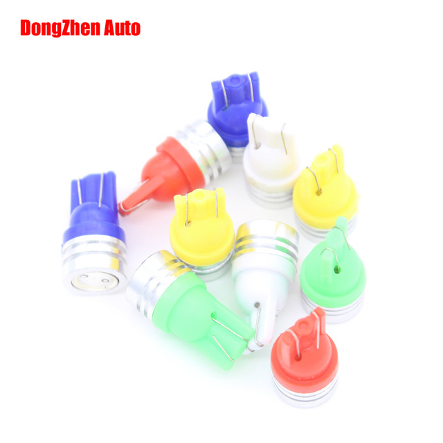 Dongzhen Car Lighting Bulb Auto 10X T10 LED Interior Stop Door Light Clearance Xenon Lamp Parking Fog Light Source Accessories