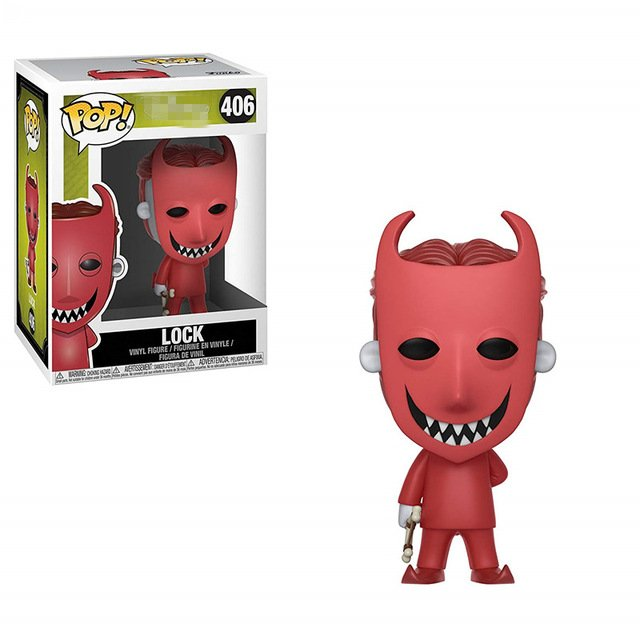 Funko pop Official The Nightmare Before Christmas - Lock Vinyl Action Figure Collectible Model Toy with Original Box
