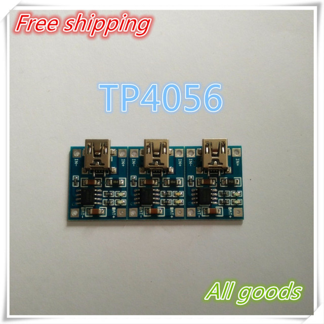 TP4056 1A Lipo Battery Charging Board Charger Module lithium battery DIY Mini USB Port + Free shipping