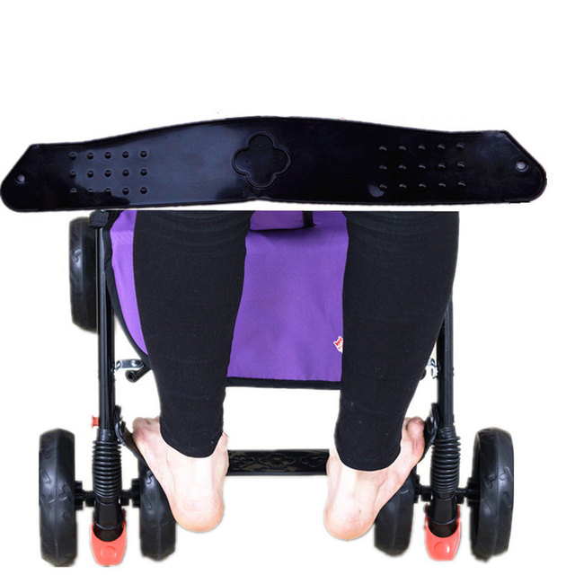 Stroller Footboard Premium Quality Footrest Baby Carriage Treadle Plastic Extend Board Infant Toddler Pedal Anti-Skid Product
