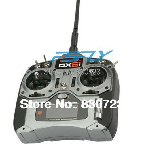 DX6i RC Full Range 2.4GHz  6-Channel Remote Control Radio W/ MK610 6 CH Receiver(Mode1 or Mode2)