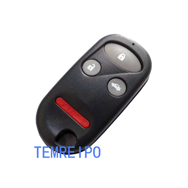 20pcs/lot 3+1 Button Auto Car Remote Key Shell Cover For Honda Accord CRV S2000 Civic Odyssey Key Fob Case