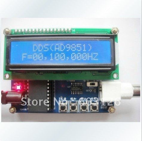AD9850 (0 to 30 M) DDS source. Signal generator DDS module