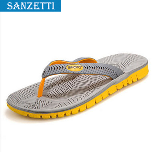 Big Size New 2015 Slippers For Men Shoes Summer Casual Men Beach Slippers,Rubber Massage Outdoor Flip Flops Sapatos Femininos