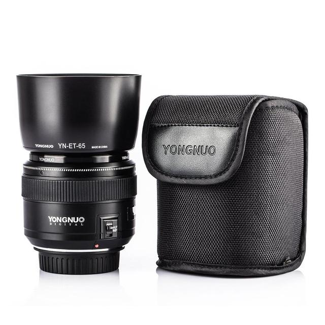 YONGNUO YN85mm F1.8 Lens Standard Medium Telephoto Prime fixed focus lens For Canon EF Camera 7D 5D Mark III 80D 70D 760D 650D